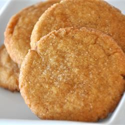 Big Soft Ginger Cookies Alberta Rose