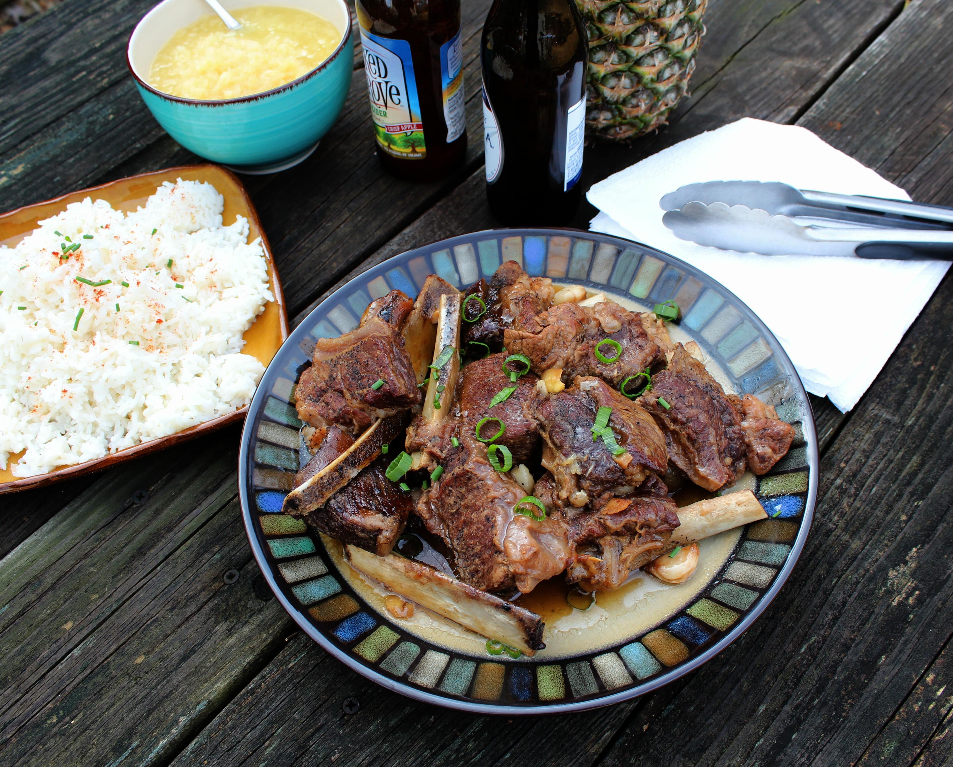 Braised Hoisin-Beer Beef Short Ribs