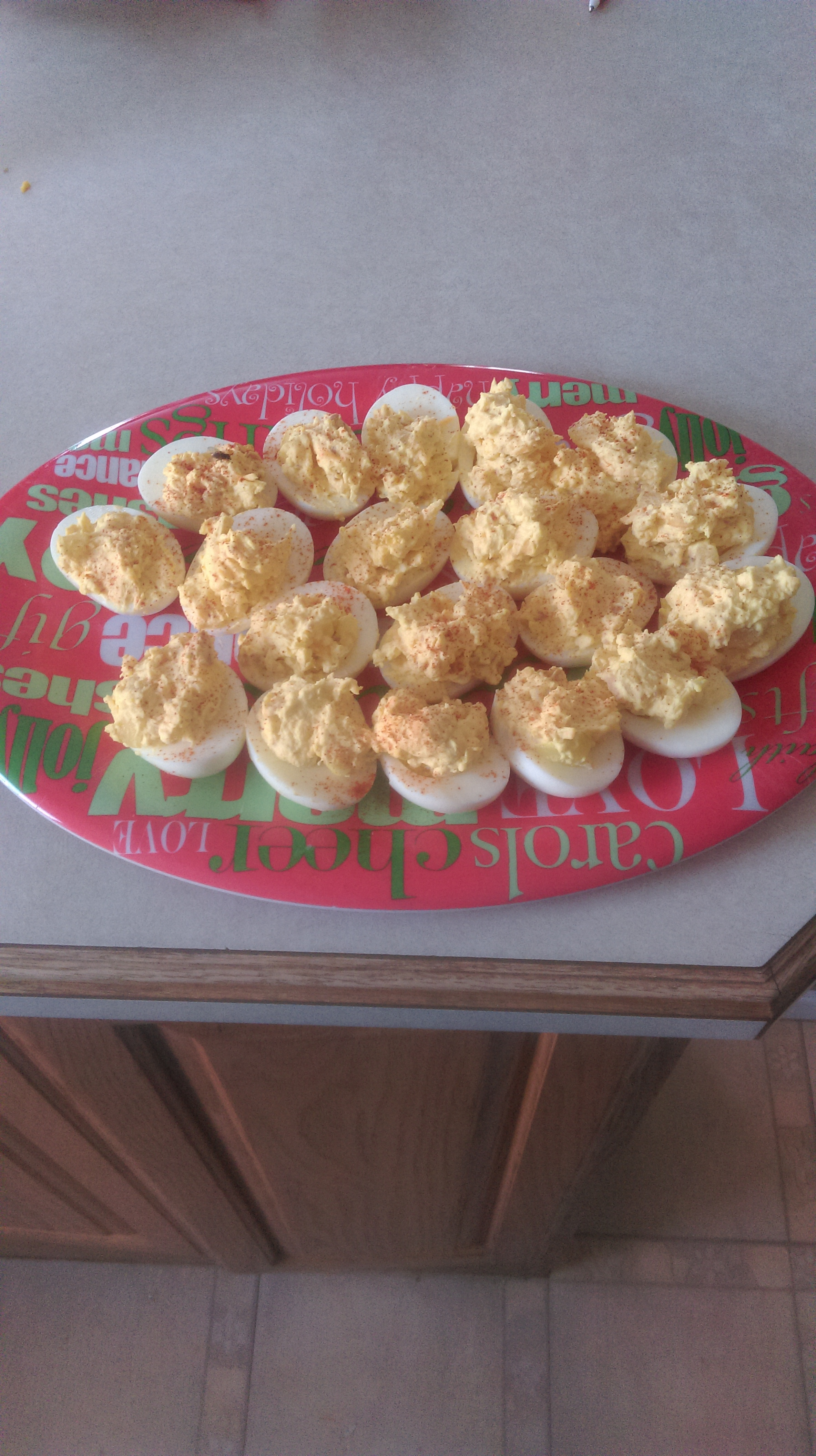 Fully Loaded Deviled Eggs Todd Newcomb