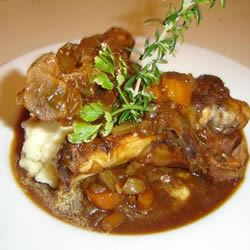 Stout-Braised Lamb Shanks Nick Russell