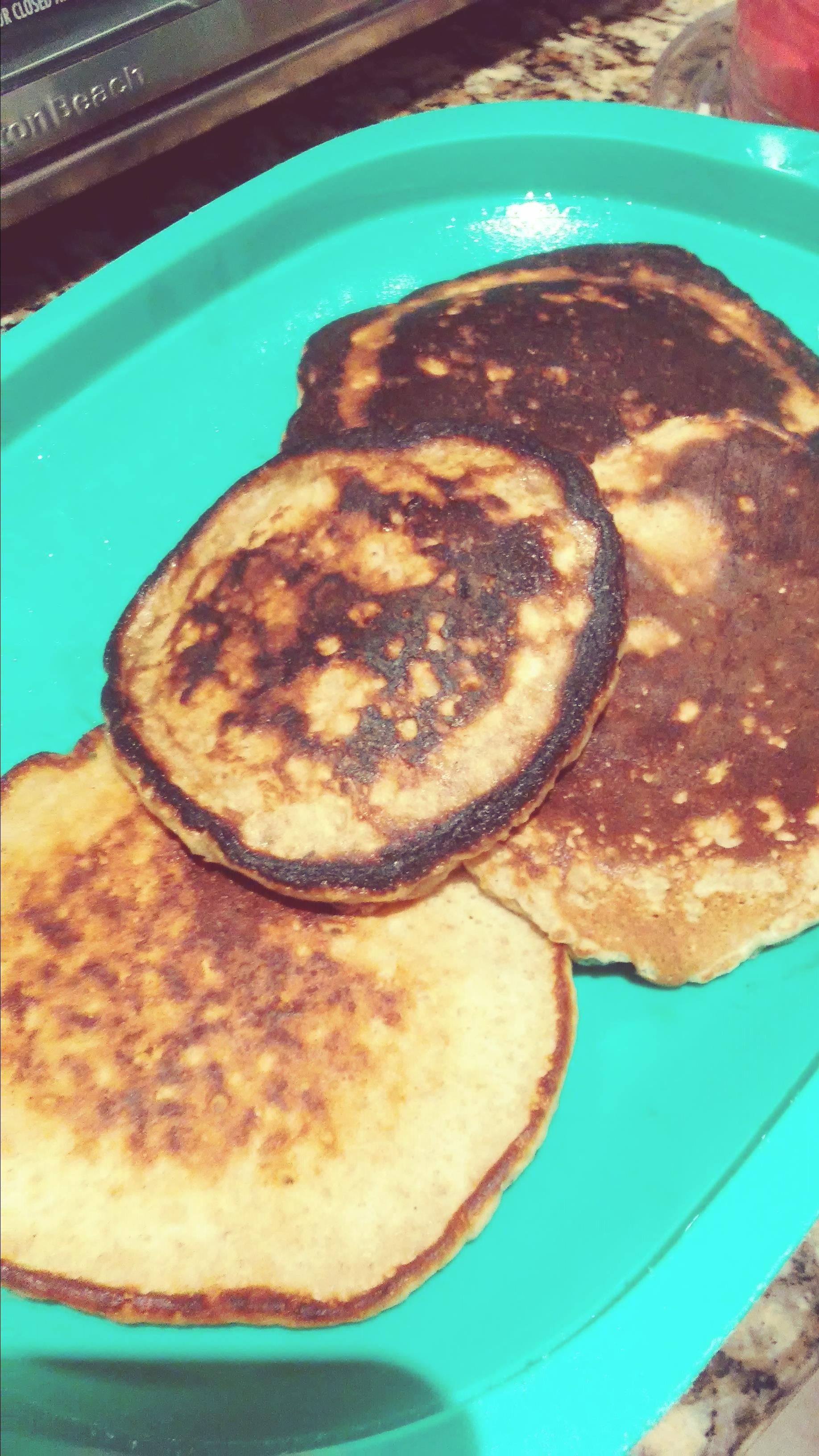 Quick Oatmeal Pancakes Ale Mj