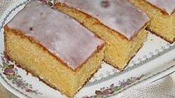 Glazed Homemade Lemon Cake