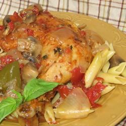 Mom's Chicken Cacciatore Trish Beier