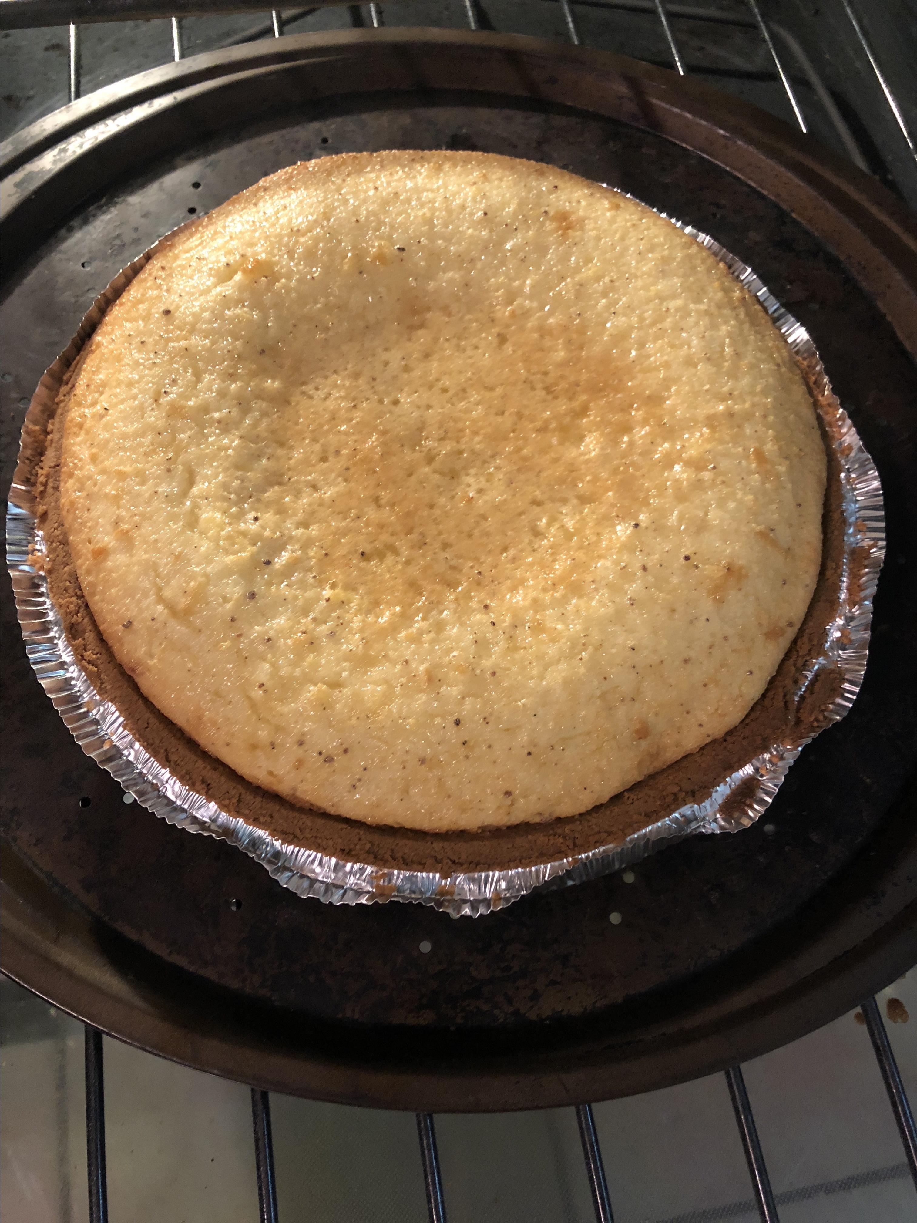 Holiday Eggnog Pie sarie