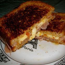 Ham and Brie Sandwich Kristen Elizabeth Caron