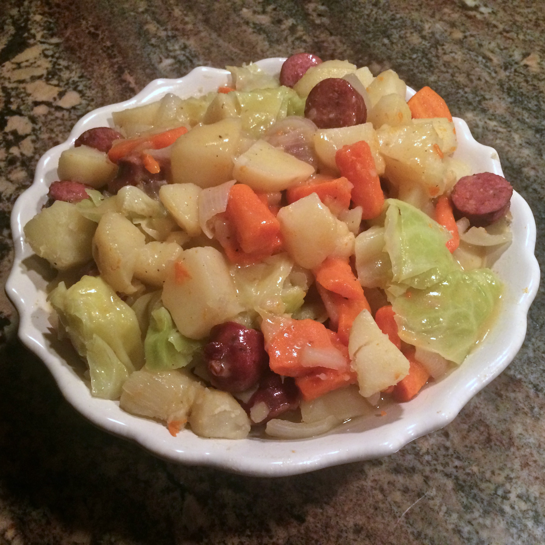 Cabbage-Sausage Stew