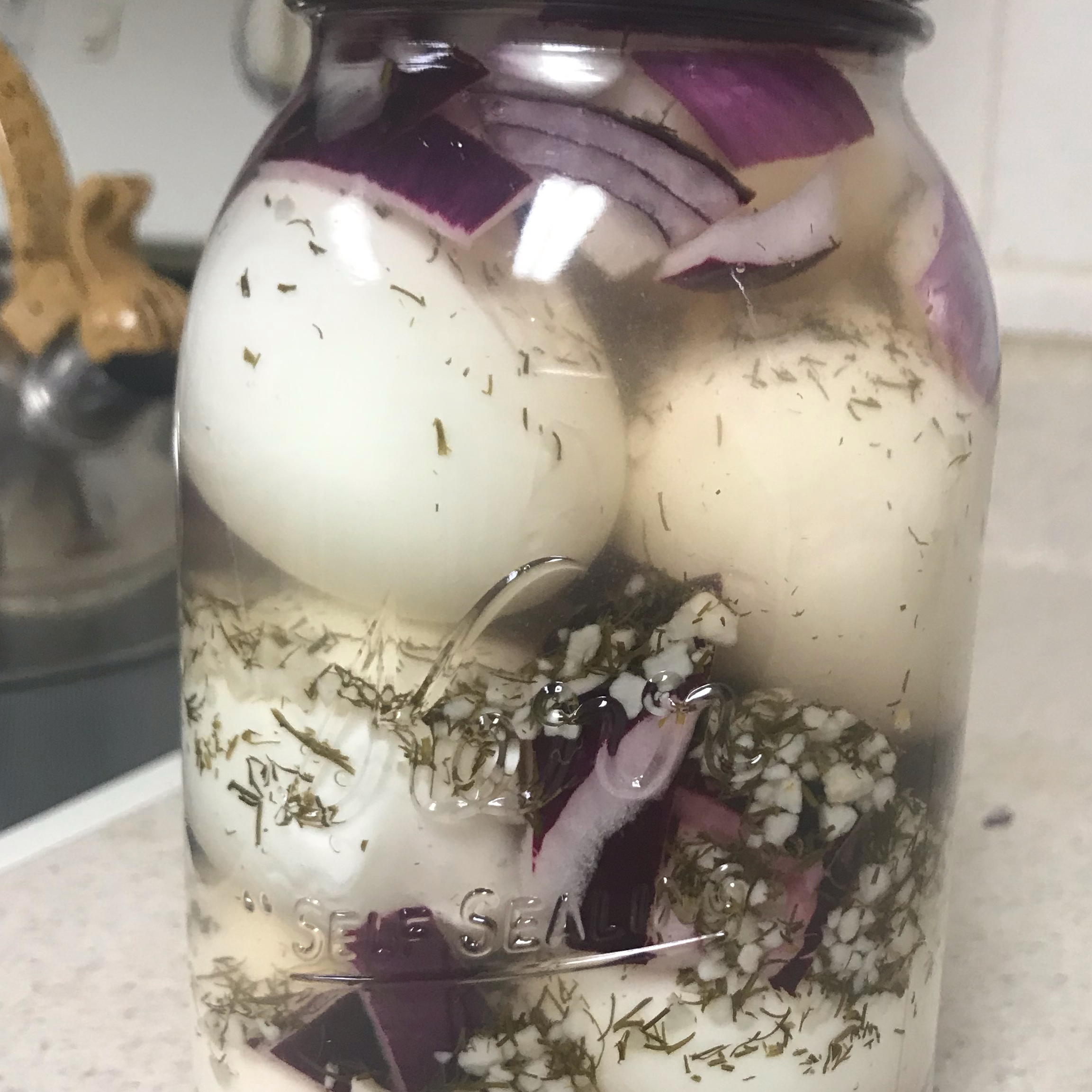 Garlic Pickled Eggs Angel Lotus Song