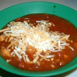 Super Easy Chicken Chili Sue Ann Eggermont