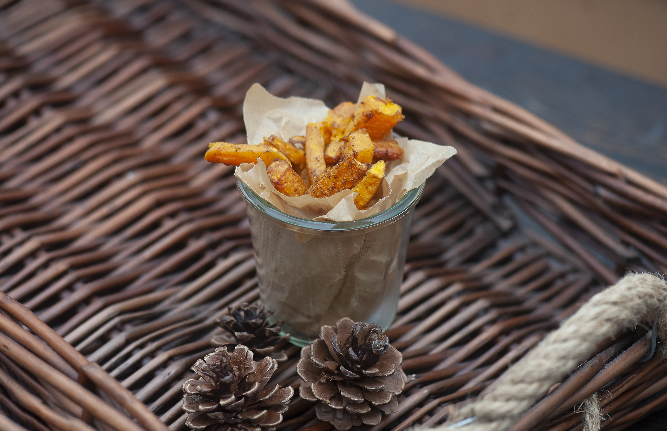 Chinese Five-Spice Air Fryer Butternut Squash Fries