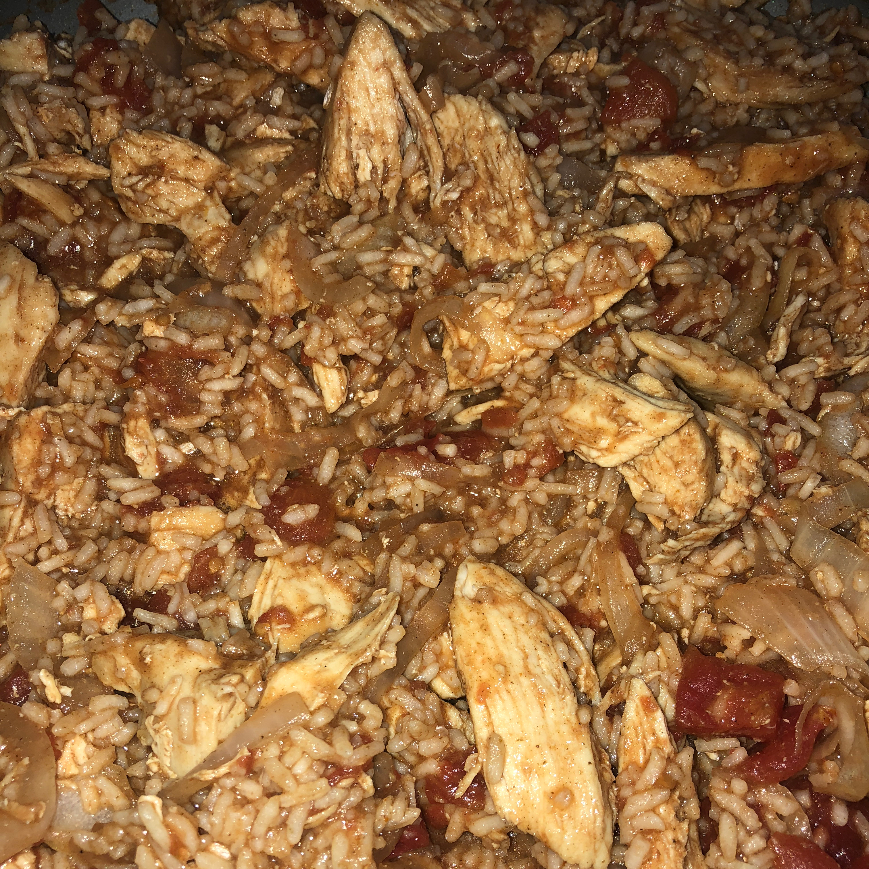 Chicken and Rice with Cumin and Cilantro Bobbie Garcia