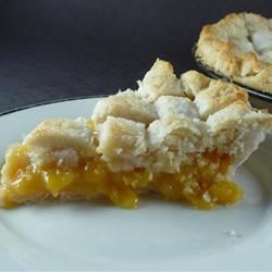 Peach Pie the Old Fashioned Two Crust Way Kendra