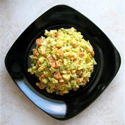 Polish Vegetable Salad (Jarzynowa Salata)