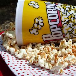 Cinnamon-Sugar Popcorn lutzflcat