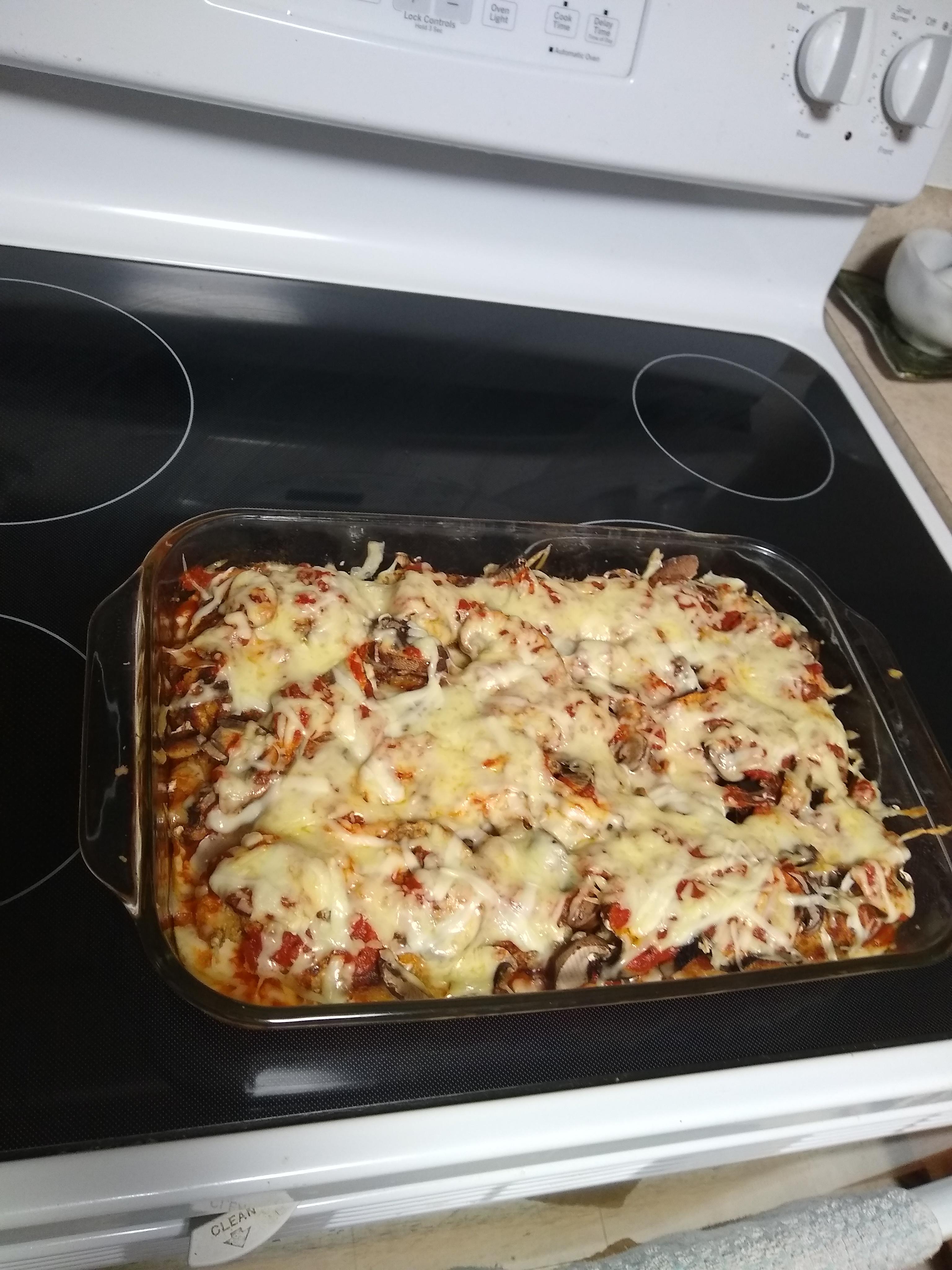 Layered Chicken Parmesan Gnocchi Bake RAGÚ®