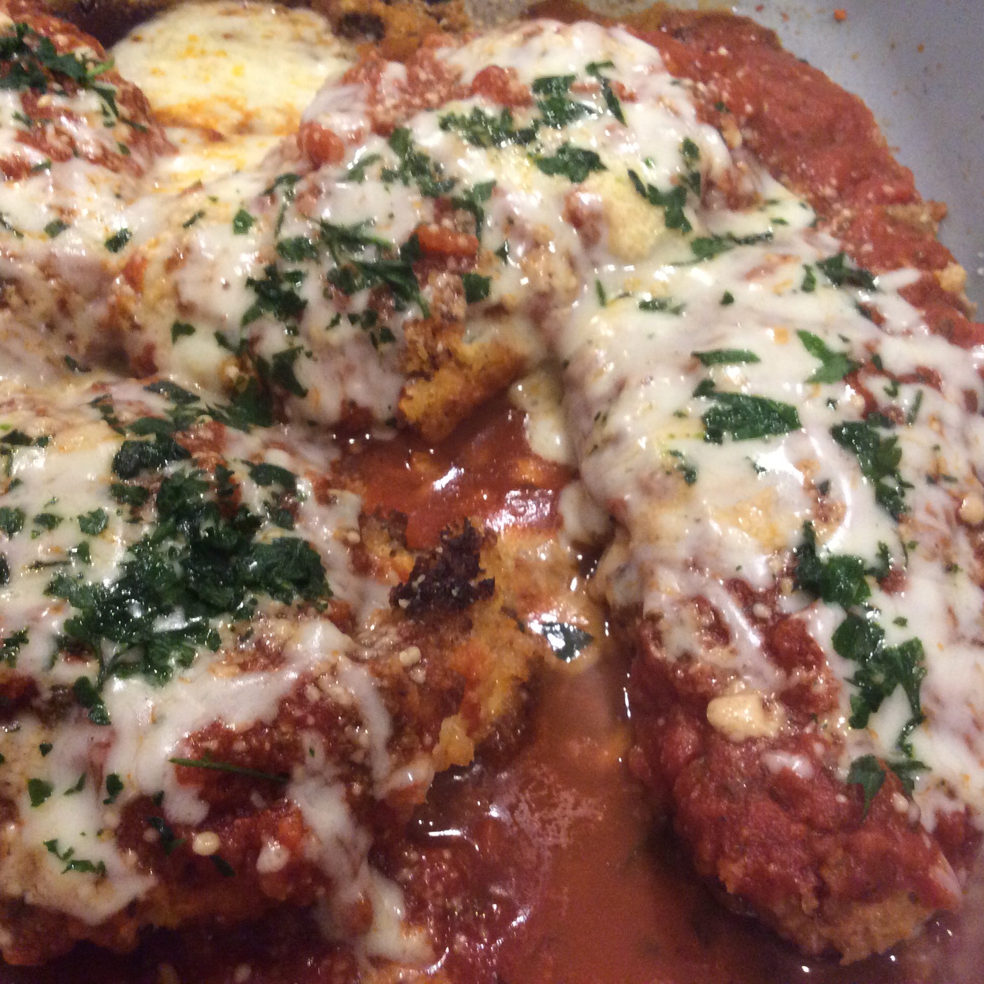 A 20-Minute Chicken Parmesan Monica Ely