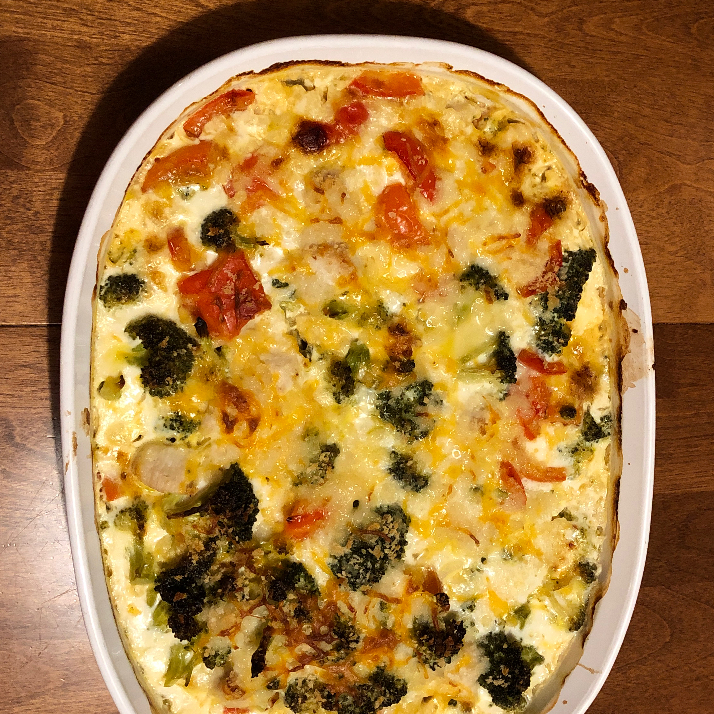 Cheddar Broccoli and Chicken Casserole from Country Crock®