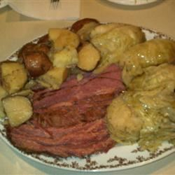 Corned Beef and Cabbage Tracy