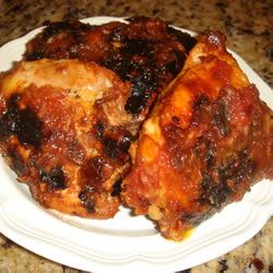 Ty's Barbequed Chicken LOLOMASKY