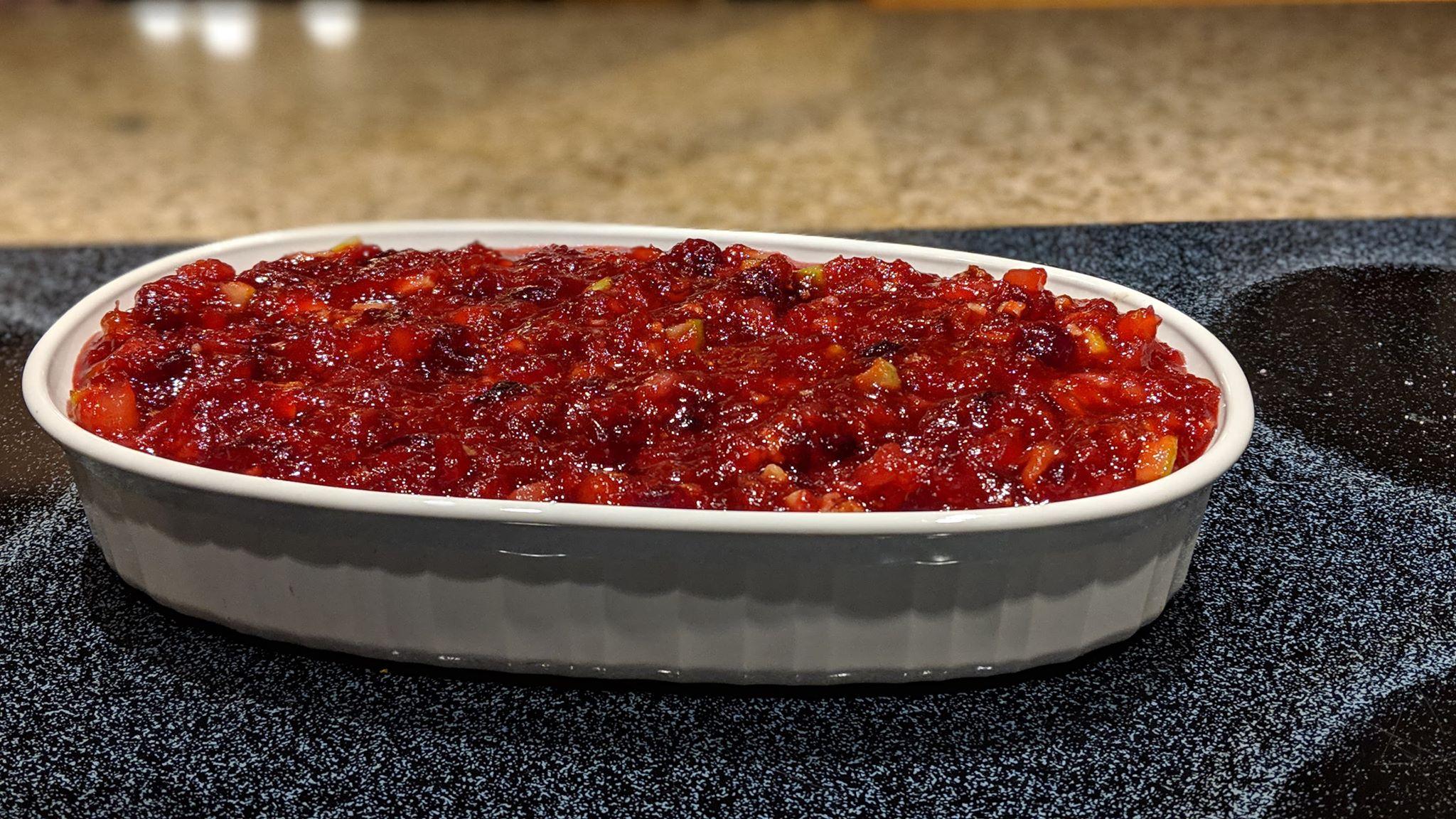 Cranberry Relish I Bethany Idontwanttouseit