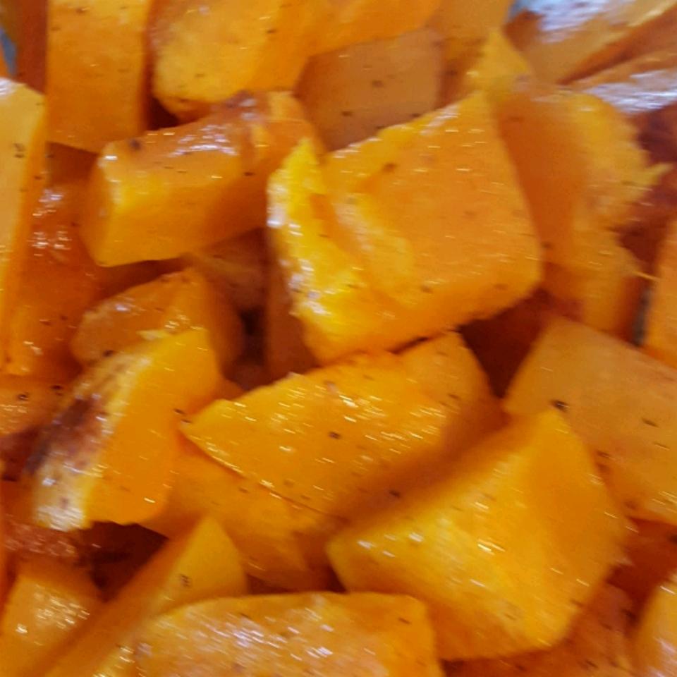 Simple Roasted Butternut Squash Regina Gina
