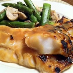 Miso and Soy Chilean Sea Bass