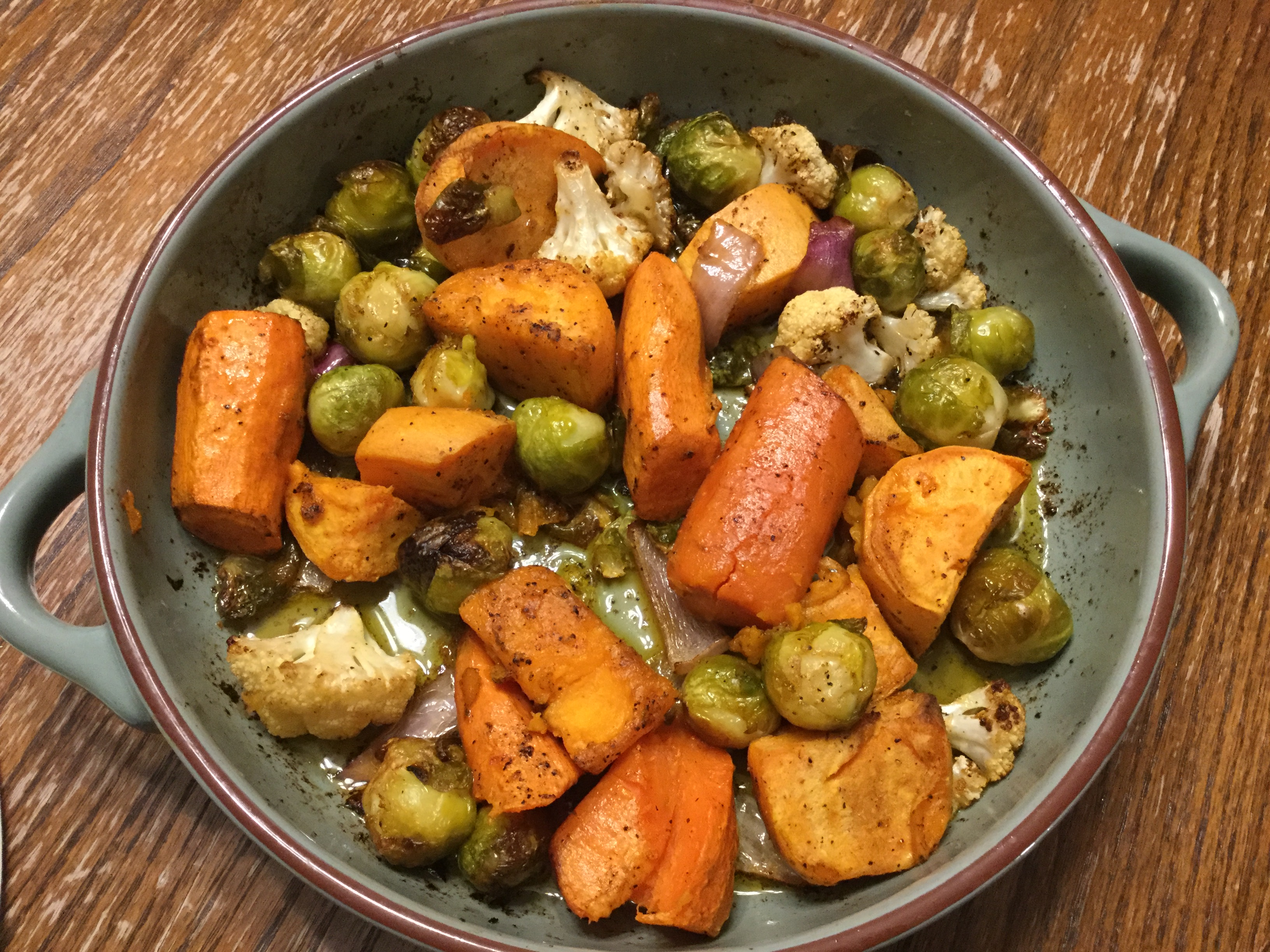 Roasted Vegetables for a Crowd