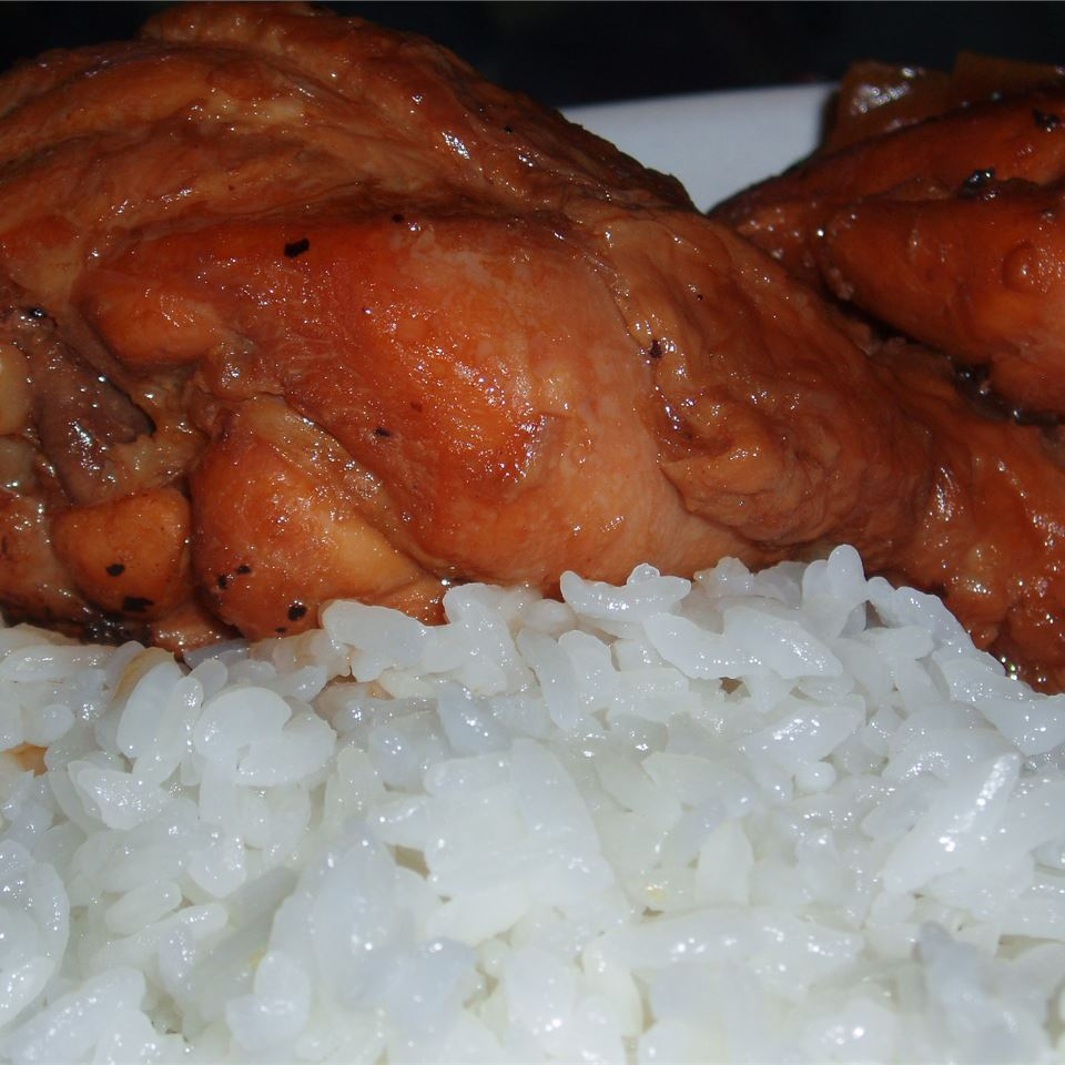 Adobo Chicken with Ginger Angela F.