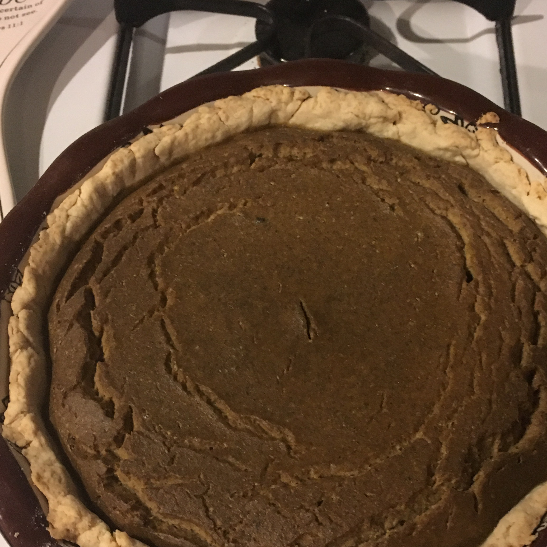 Mom's Spiced Pumpkin Pie mommammm