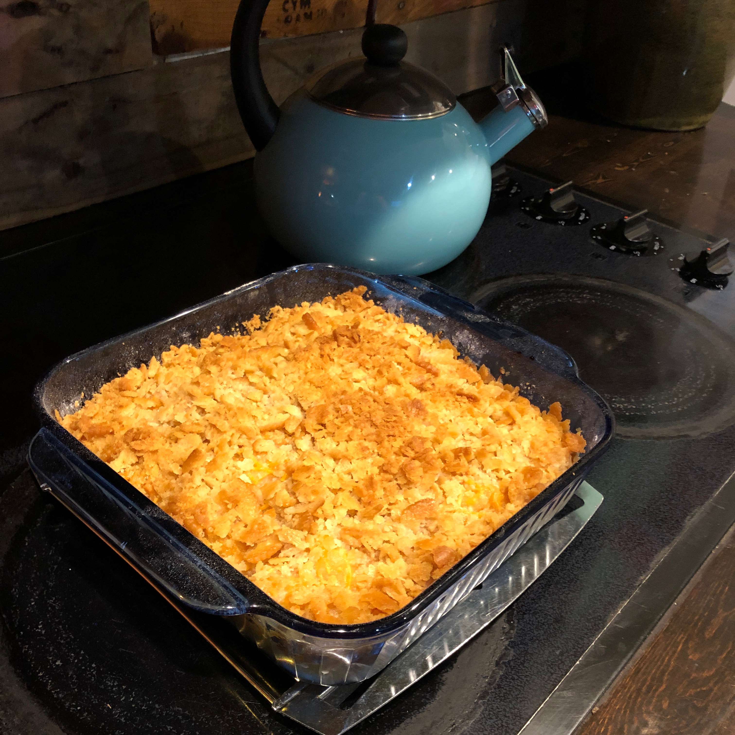 Tricia's Pineapple Cheese Casserole