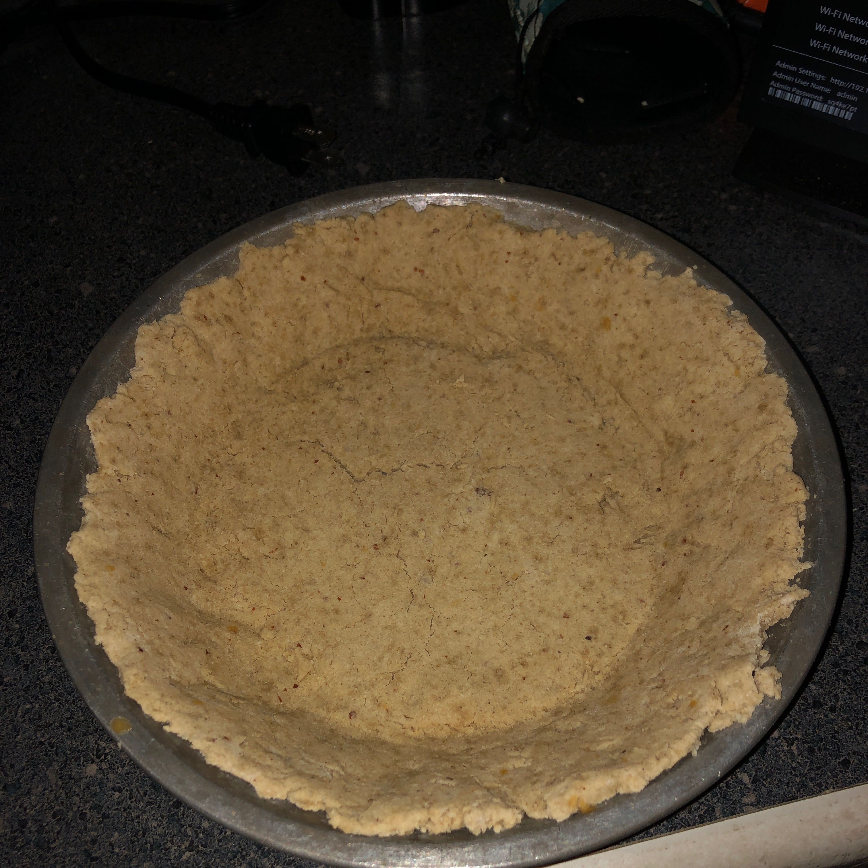 Rice, Oat, and Almond Crust