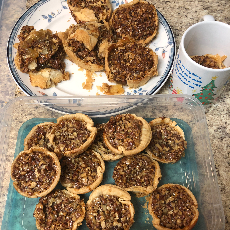 Mini Southern Pecan Pies AMLello