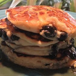 Whole Wheat Blueberry Pancakes TAURUSGIRL