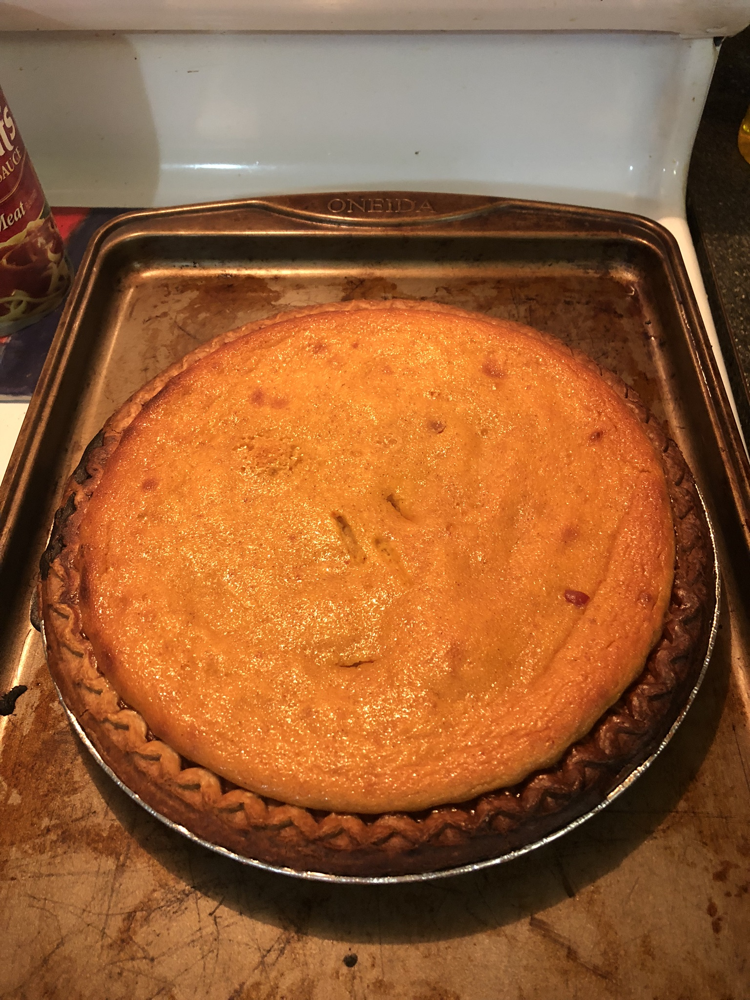 Fresh Pumpkin Pie Vanessa R Johnny-Colmenero