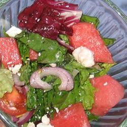 Watermelon Feta Salad Trish Beier