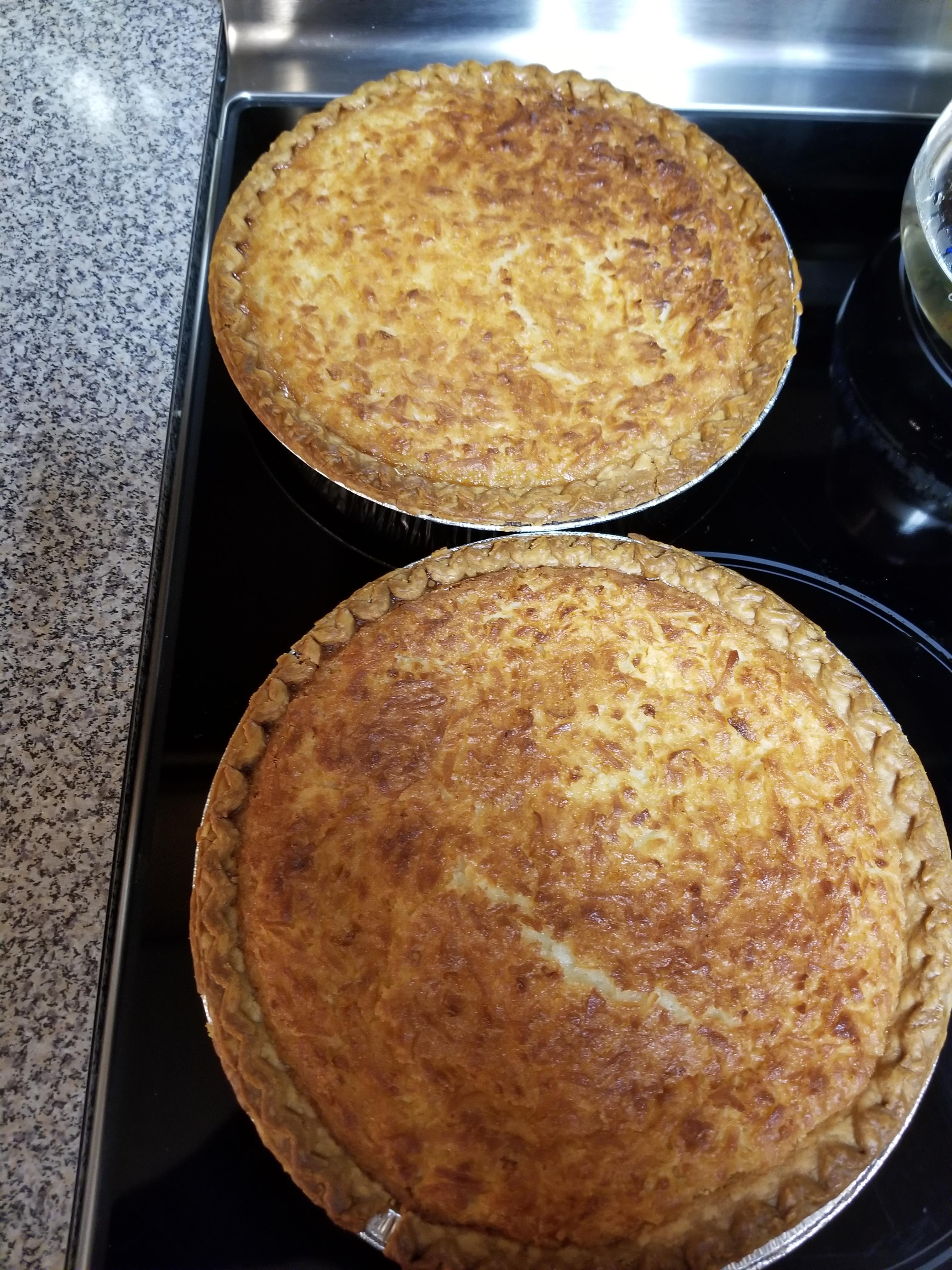 Coconut Custard Pie I Nada