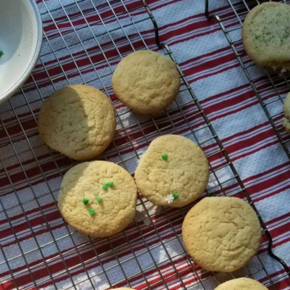 Easy Sugar Cookies Dani