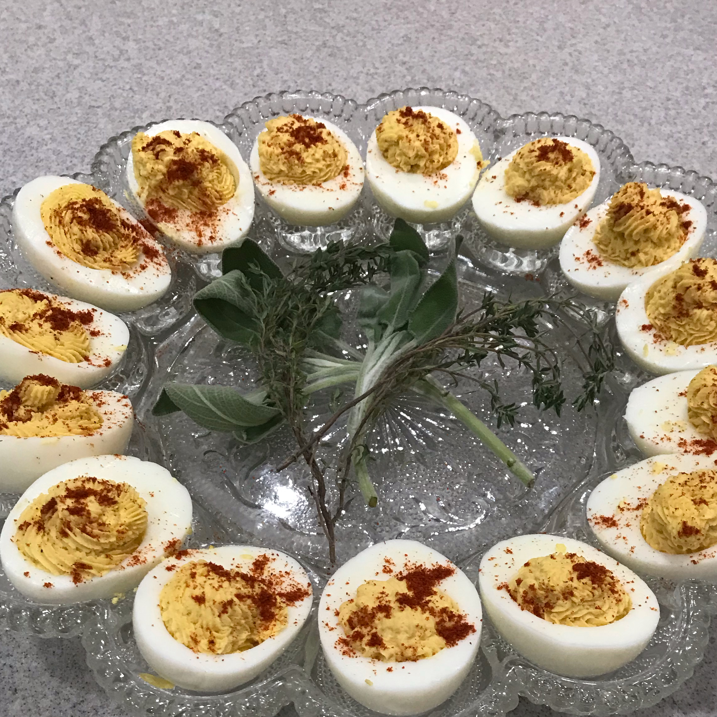 Southern Deviled Eggs Eric Blackwell