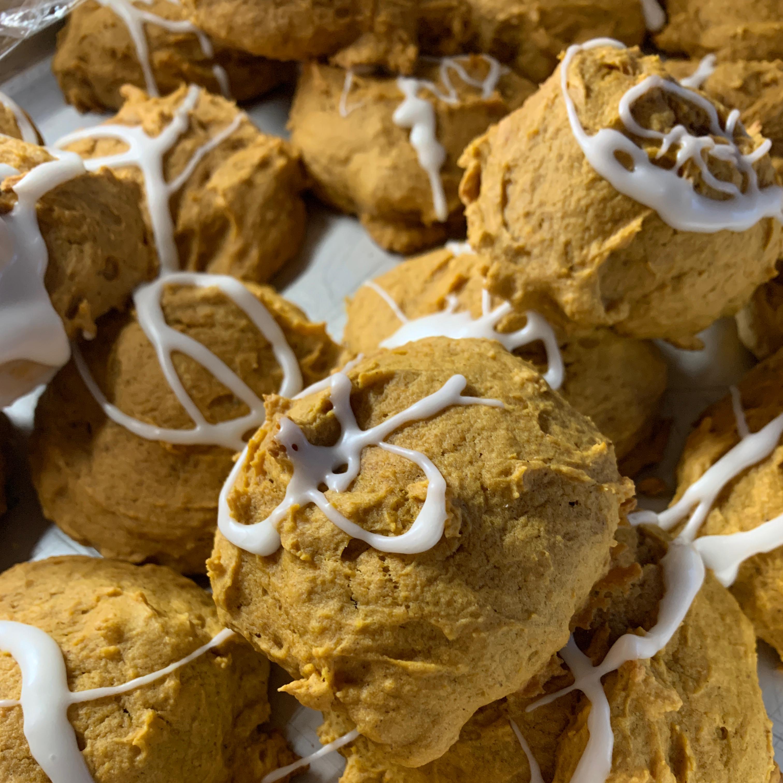 Iced Pumpkin Cookies LaNora Tolman