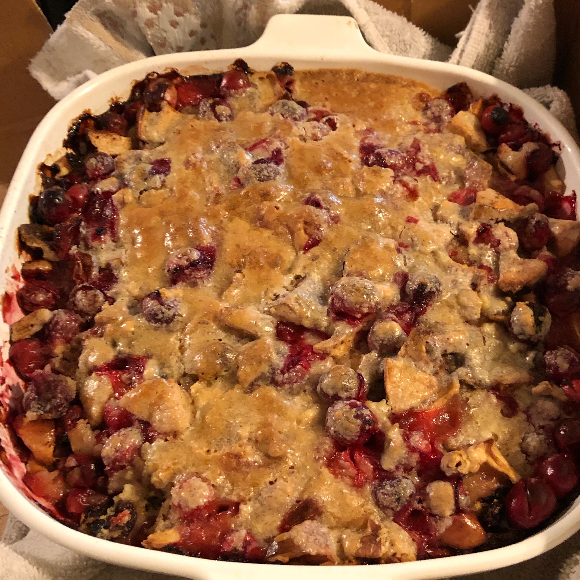 Apple-Cranberry Crumble Lisa Rivas