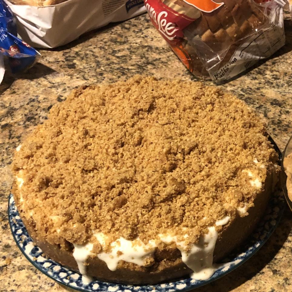 Butter Pecan Cheesecake