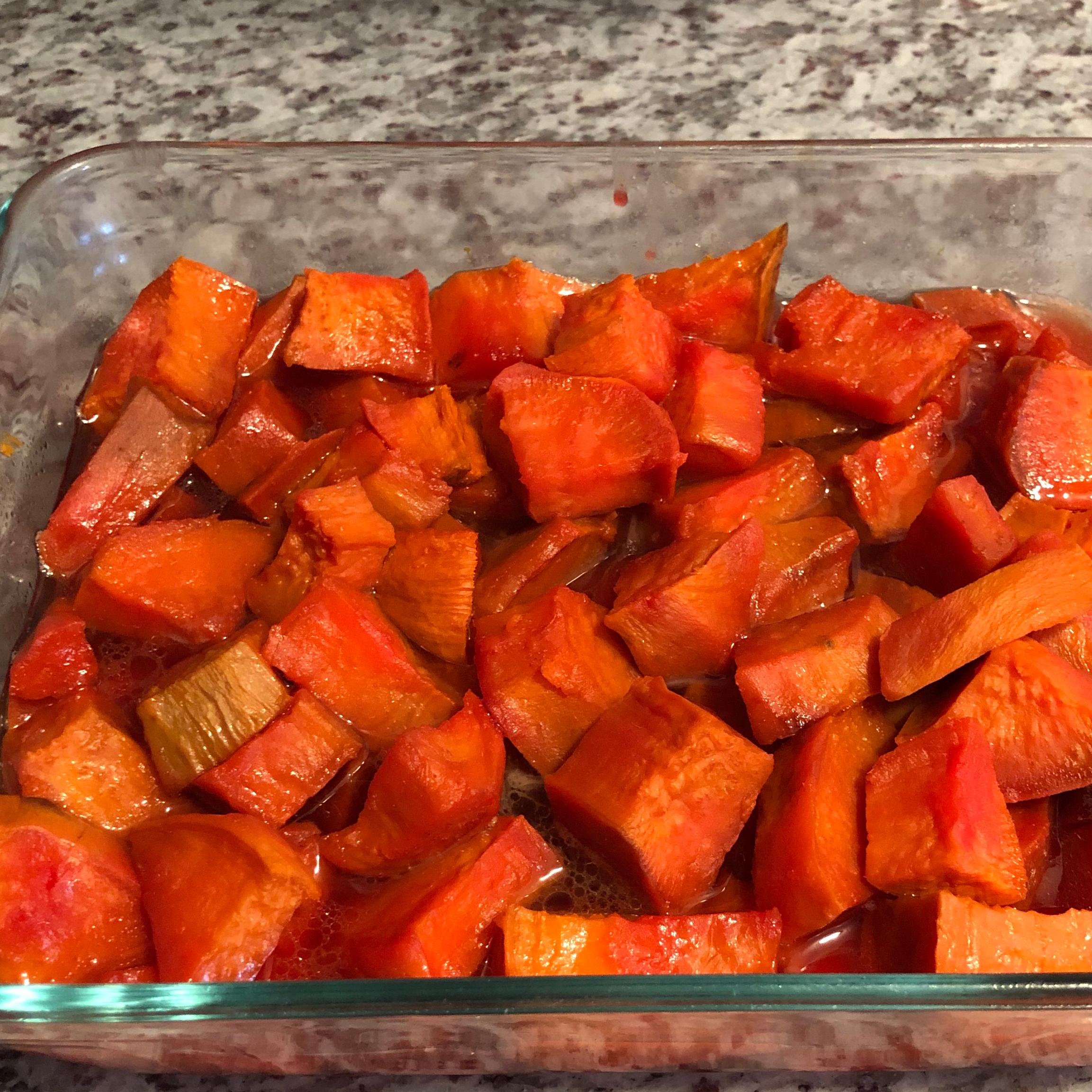 Grandma's Red Hot Southern Sweet Potatoes Megan