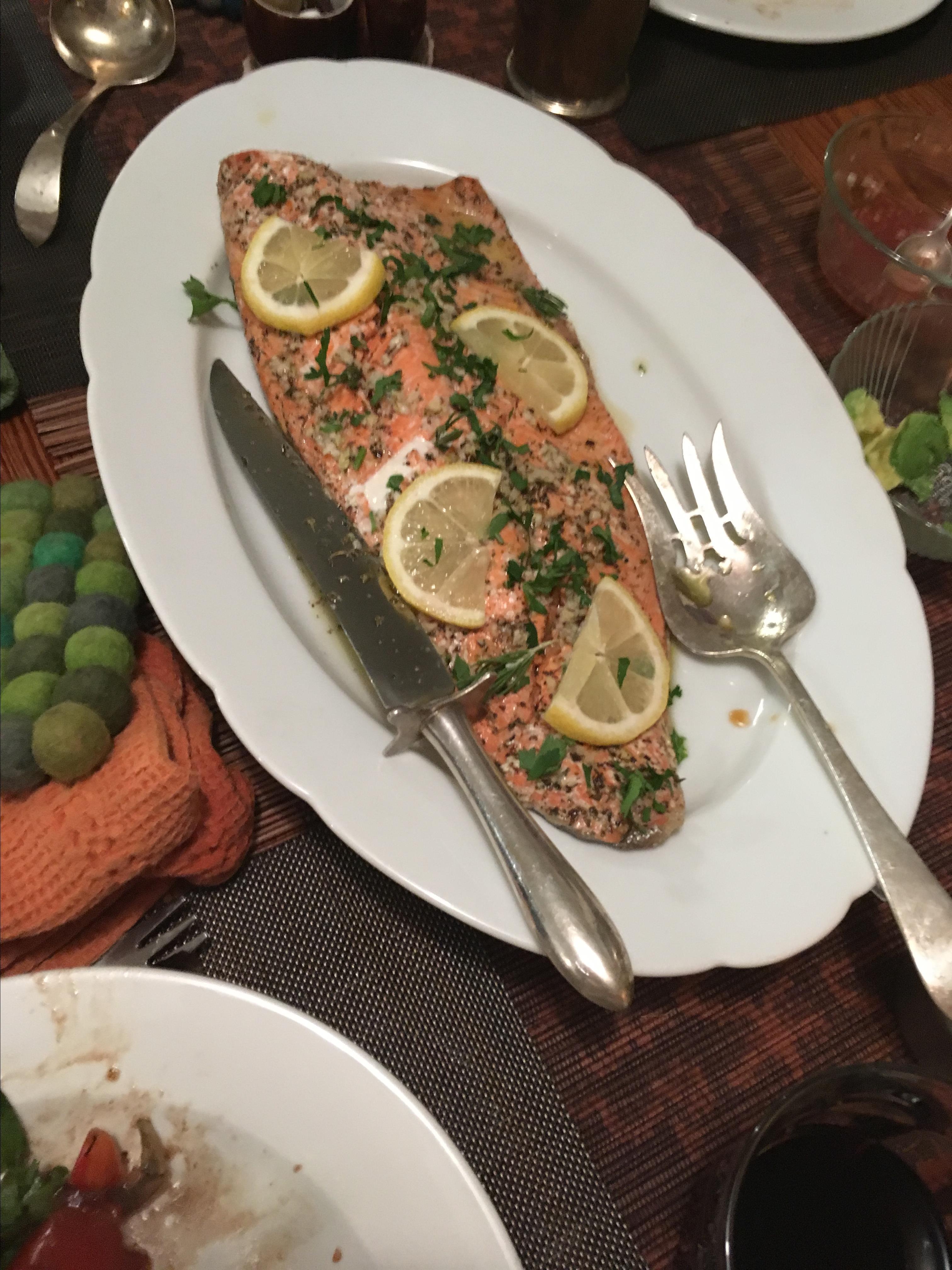 Baked Salmon in Foil barbara
