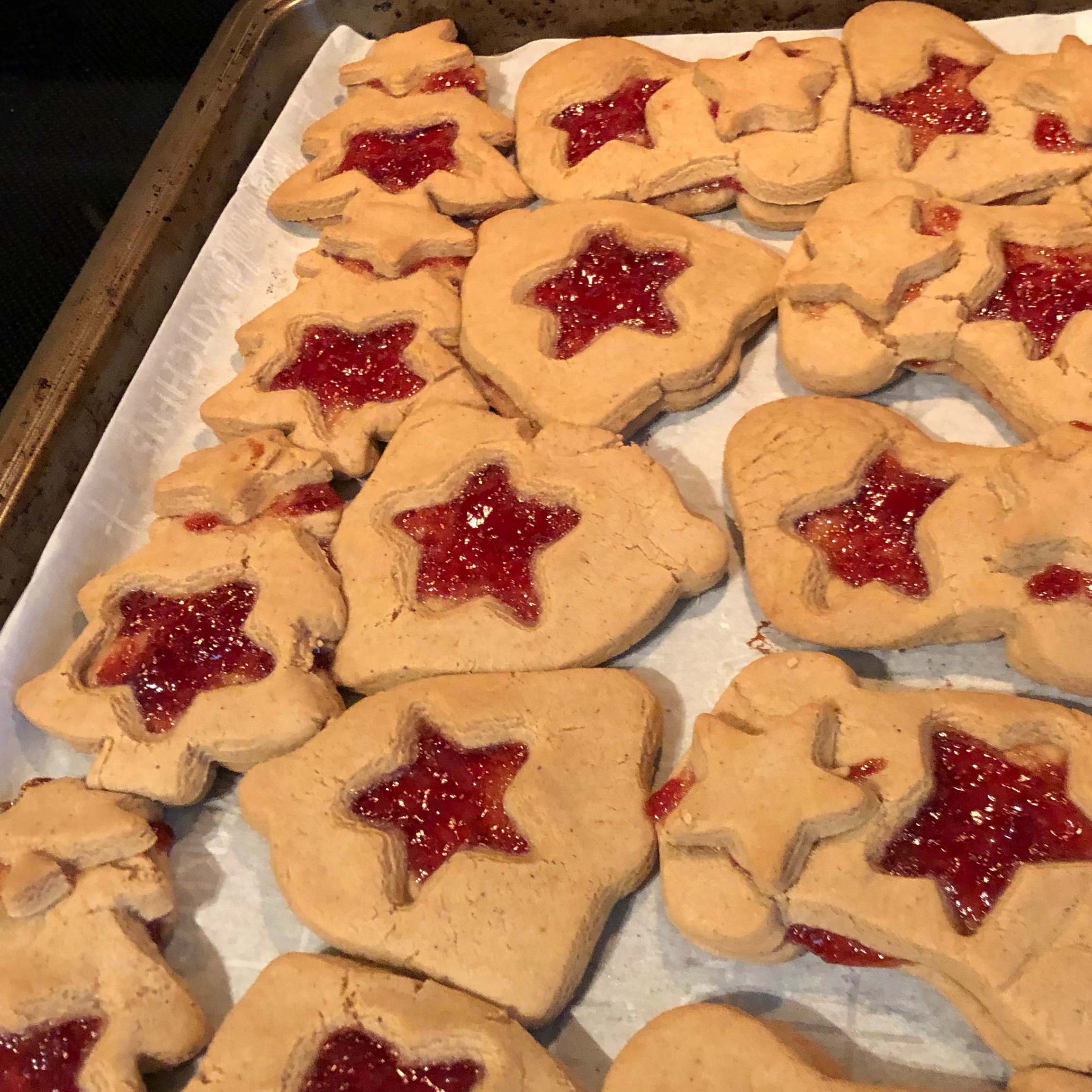 Granny's Strawberry Preserves-Filled Cookies Awakening Creative Concepts