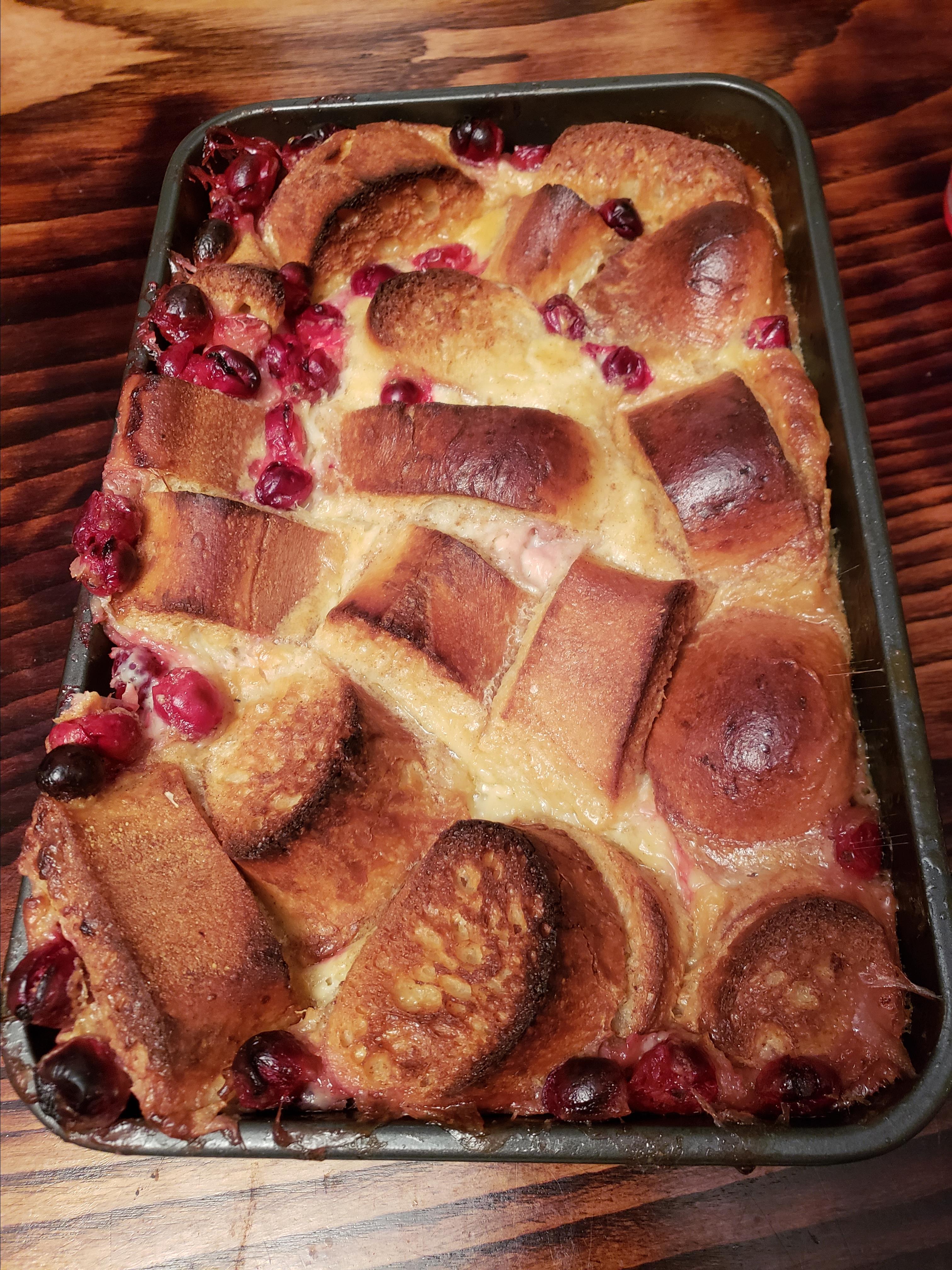 Cranberry Bread Pudding Susana Lai