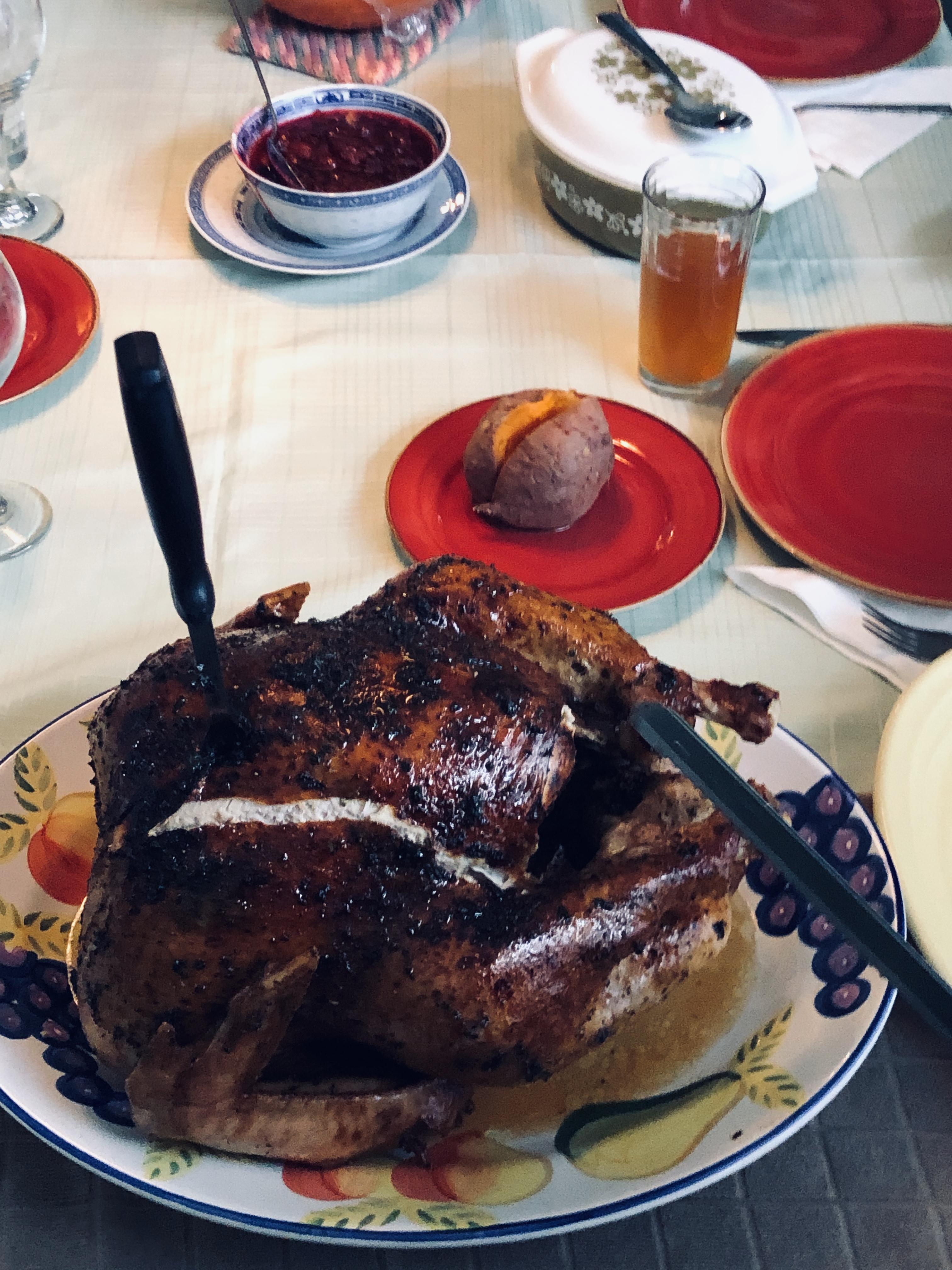 Herb-Glazed Roasted Turkey