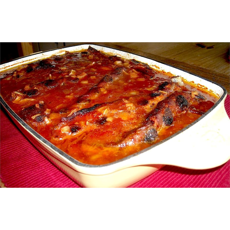 Oven Baked BBQ Ribs Chefster