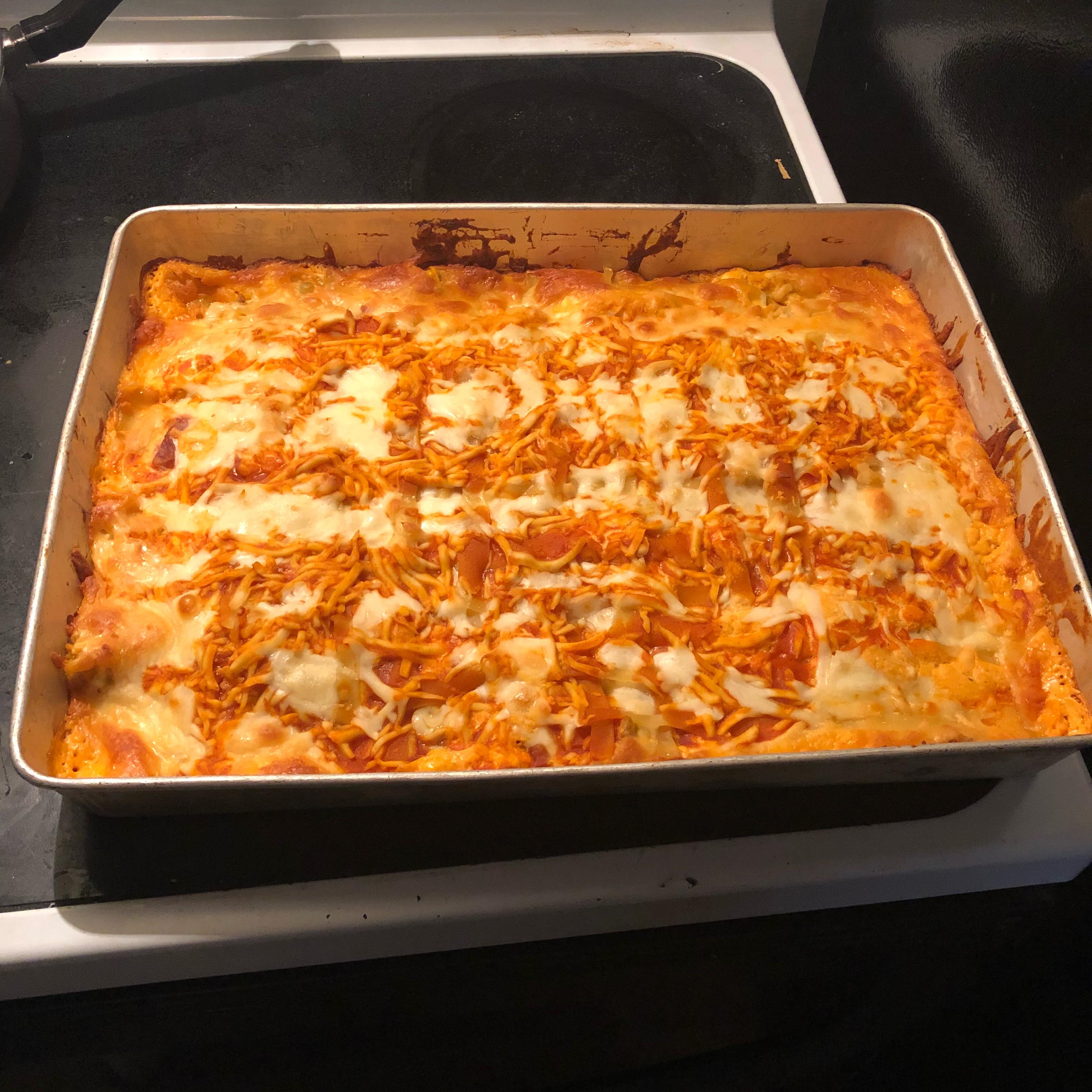 Buffalo Chicken Lasagna Brian Keith McAuley