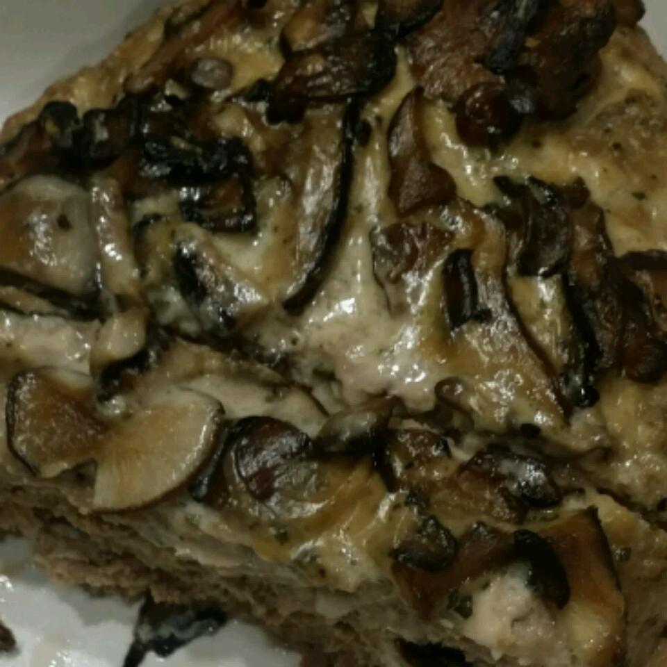 Creamy Mushroom Meatloaf