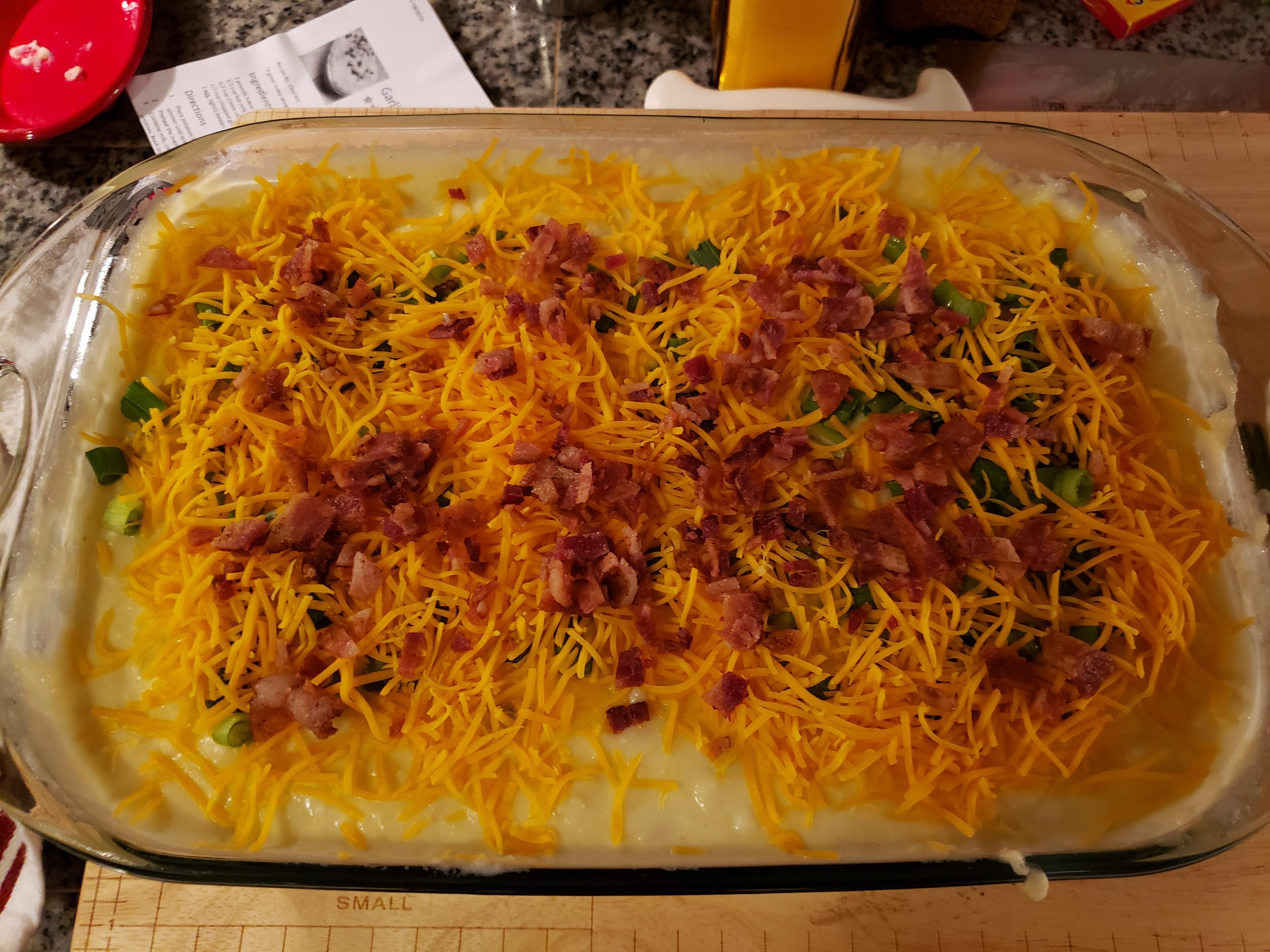 Garlic Mashed Potato Casserole TexasGravel