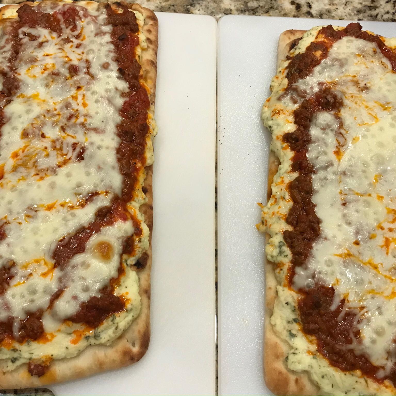 Lasagna Flatbread Paul